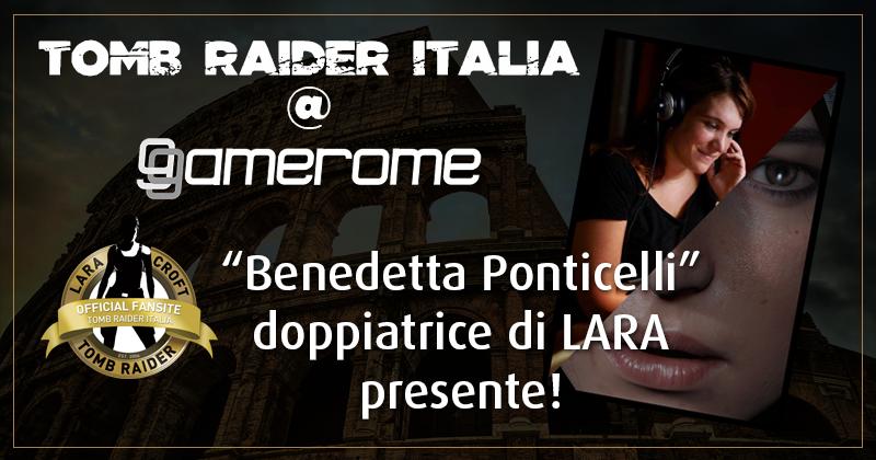 Tomb Raider Italia @ Gamerome – Benedetta Ponticelli