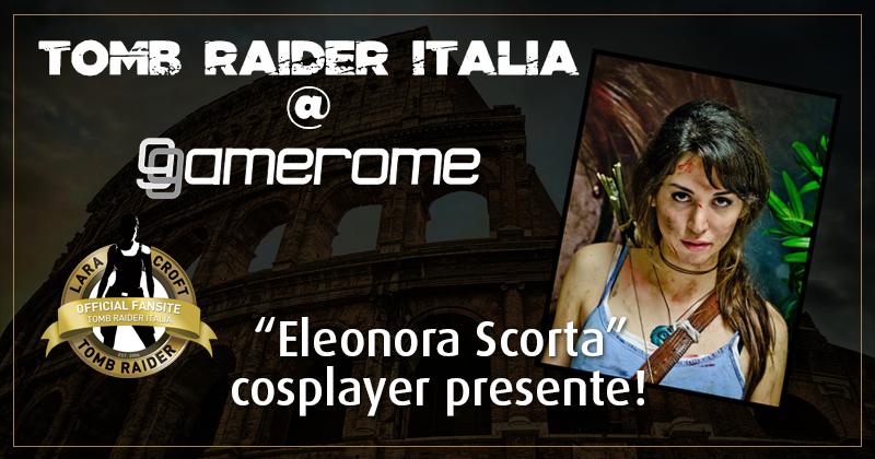 Tomb Raider Italia @ Gamerome – Eleonora Scorta