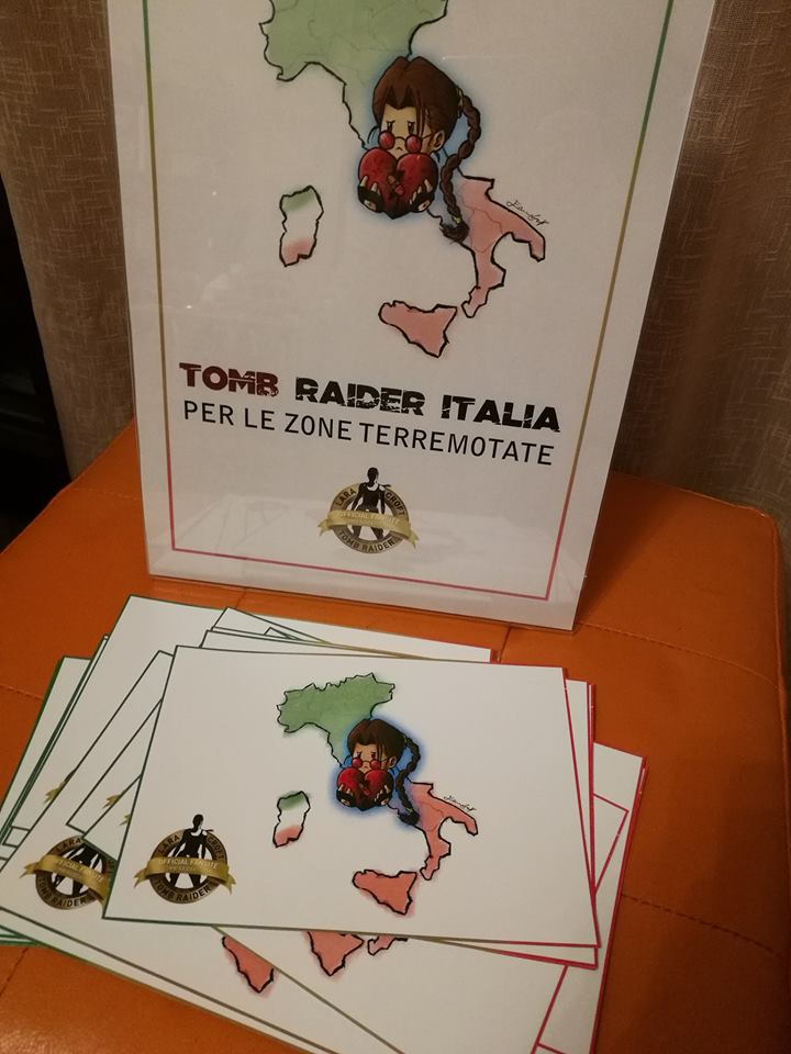 Tomb Raider Italia per le zone terremotate