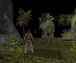 Tomb Raider - T-Rex