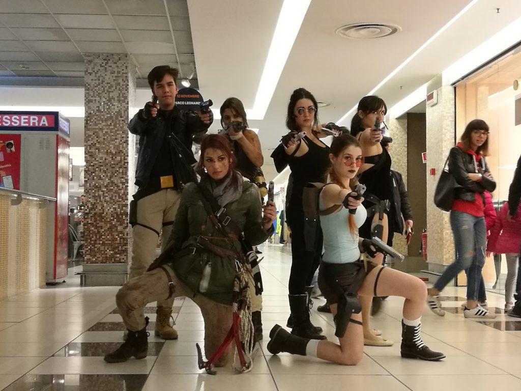 """Le foto """"social"""" di Tomb Raider Italia @ Gamerome"""