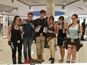 Cosplayers e fans - Tomb Raider Italia @ Gamerome