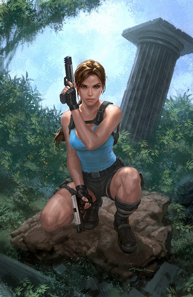 Lara Croft by Andy Park