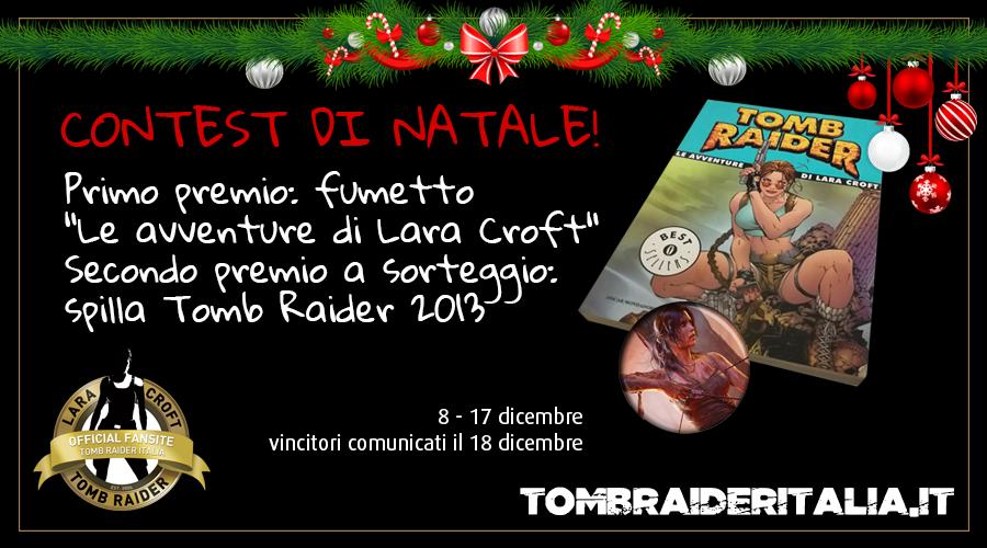 Giveaway Natale 2016 - Tomb Raider Italia