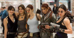 Cosplayer @ Gamerome - Tomb Raider Italia