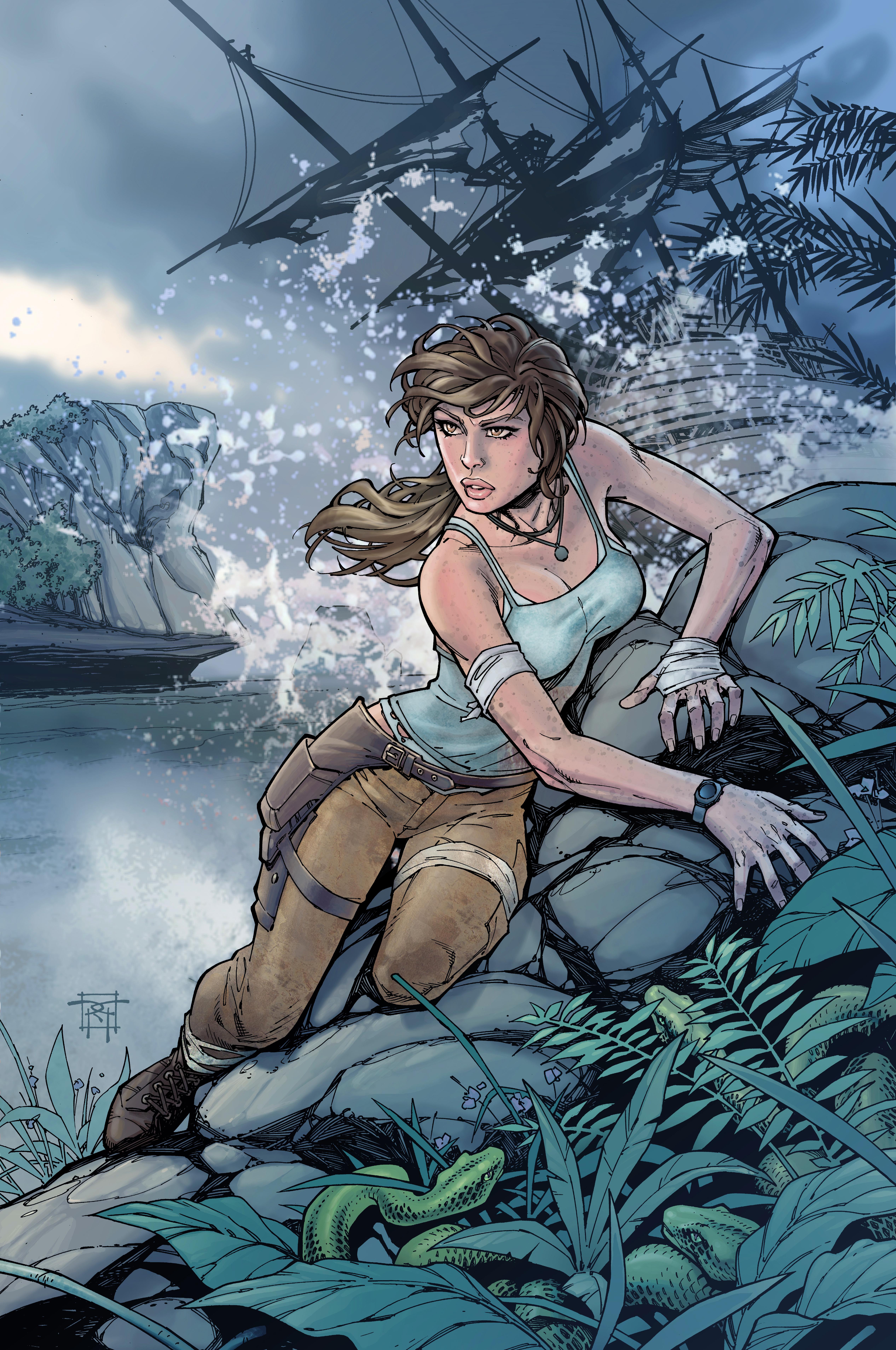 Lara Croft by Andy Park