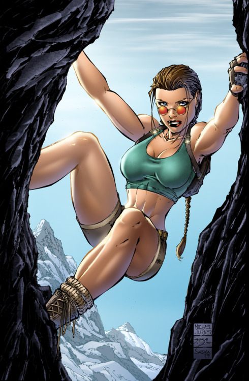 Lara Croft by Michael Turner