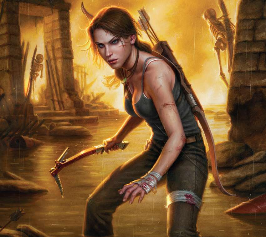 Dark Horse - Tomb Raider #1
