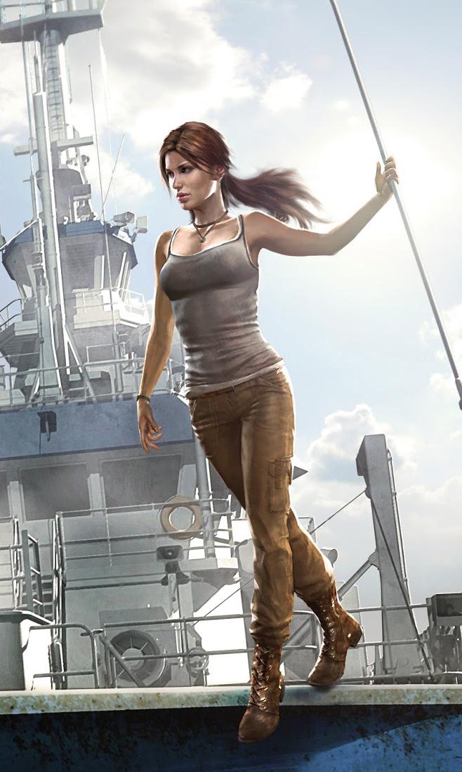 Dark Horse - Tomb Raider The Beginning