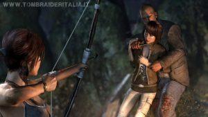 Lara Croft e Samantha Nishimura su Yamatai