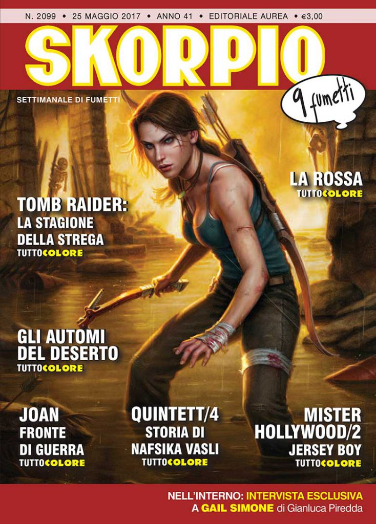 Tomb Raider - Skorpio n. 2099 Editoriale Aurea