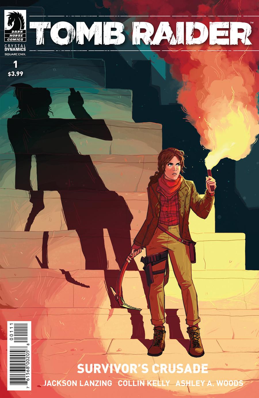 Tomb Raider Survivor's Crusade - Cover
