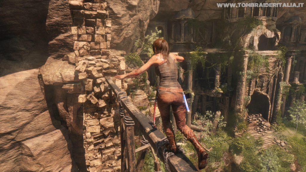 Rise of the Tomb Raider su Xbox One X