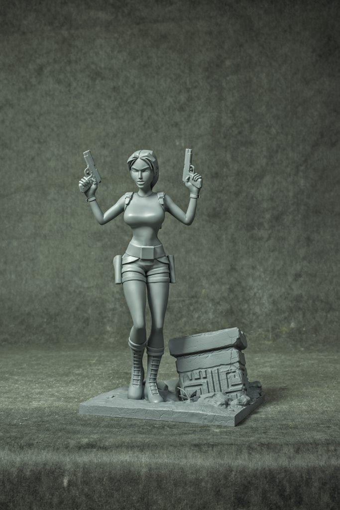Tomb Raider 20 Statue - anteprima