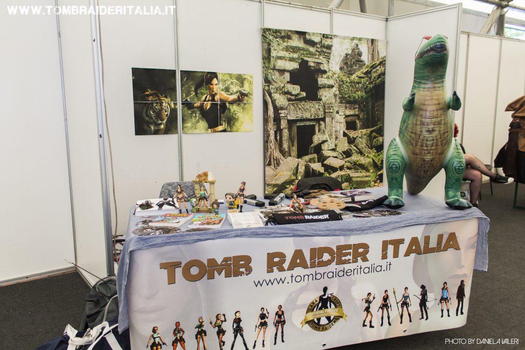 Lo stand Tomb Raider Italia