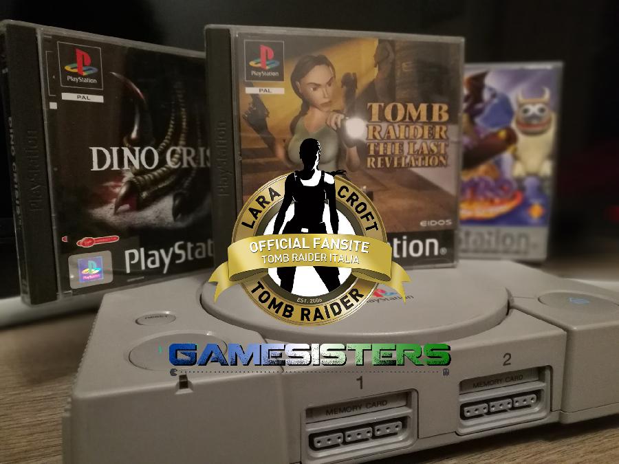 Tomb Raider Italia postazione PlayStation a Novegro