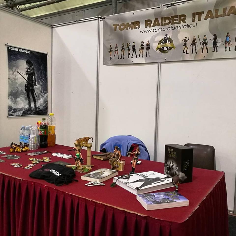 Lo stand Tomb Raider Italia a Novegro invernale 2017