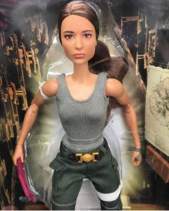 Barbie Lara Croft Alicia Vikander Tomb Raider
