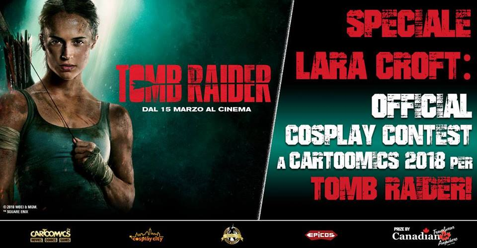 New Lara Croft Contest