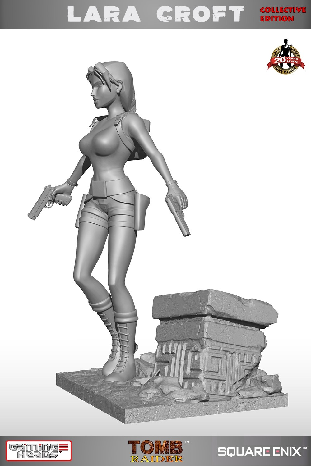 Tomb Raider Lara Croft statue by GamingHeads - Collective Edition
