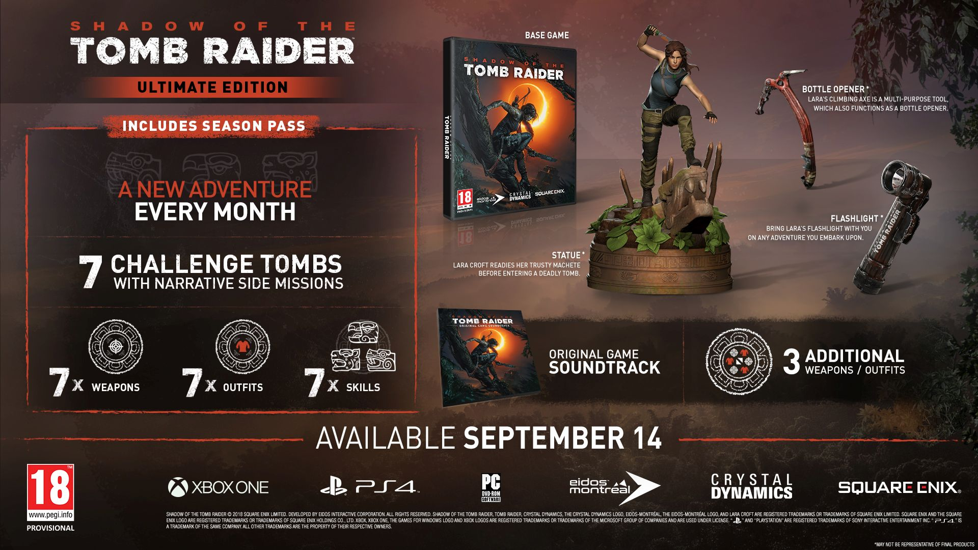Shadow of the Tomb Raider - Ultimate Edition