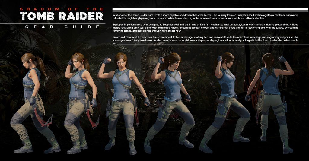 Shadow of the Tomb Raider cosplay gear guide