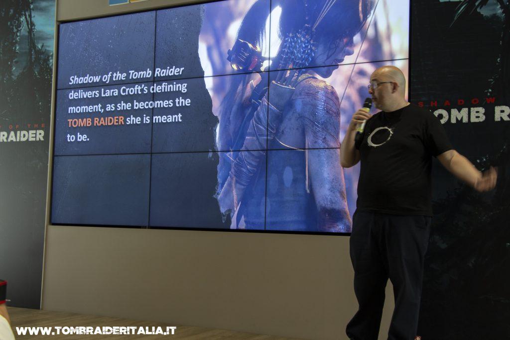 Presentazione di Shadow of the Tomb Raider a Milano, gli sviluppatori ci raccontano il gioco