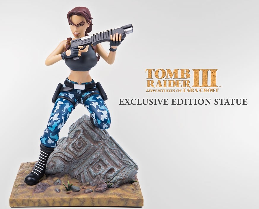 Gaming Heads Lara Croft Tomb Raider IIII