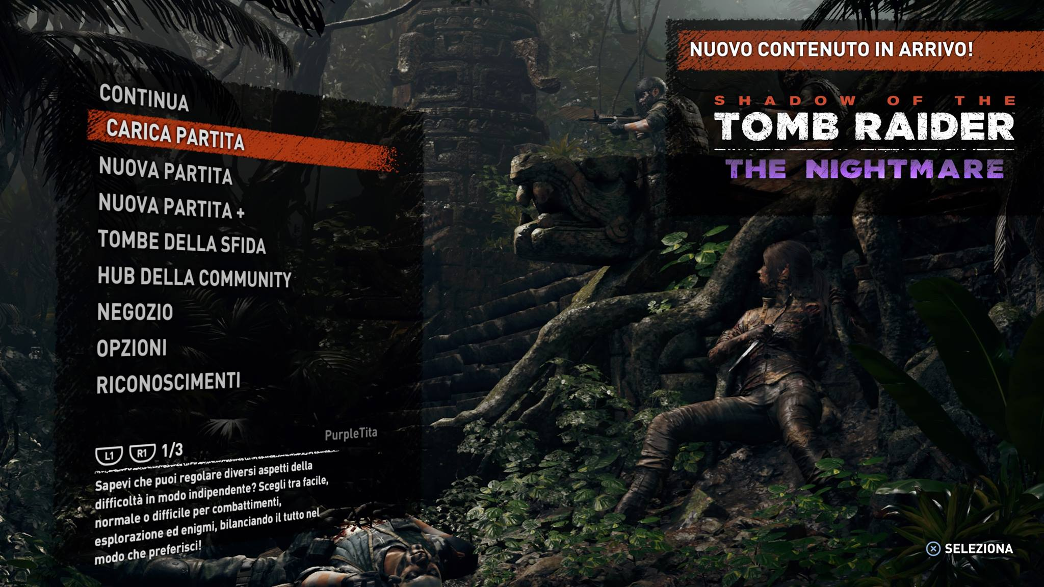 DLC Shadow of the Tomb Raider - The Nightmare