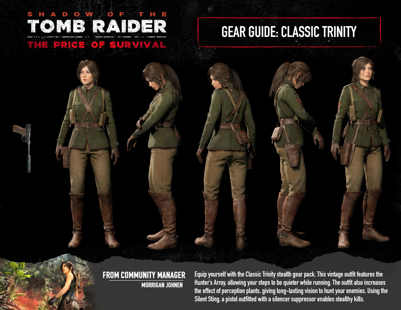 Classic Trinity outfit - Shadow of the Tomb Raider