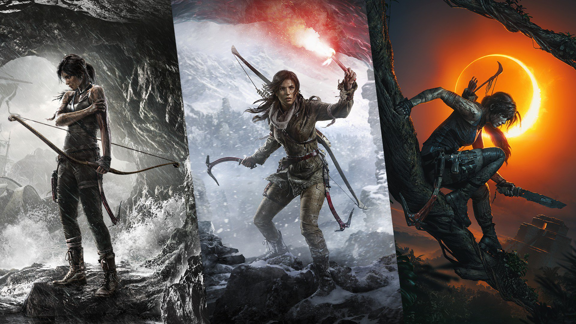 Tomb Raider reboot Trilogy